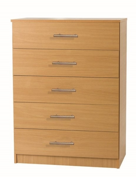 Beech 5 Draw Chest 163 105 00 Beech Furniture World Uk