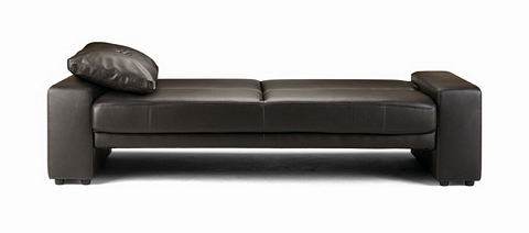 Supra Sofa Bed Brown Black 259 00 Beds Furniture World Uk Free Next Day Delivery