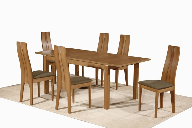 Nevada Extending Table 6 Chairs Dining Set 37900